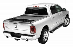 Roll-N-Lock LG447M Locking Retractable M-Series Truck Bed Tonneau Cover for 2009-2018 Dodge Ram 1500