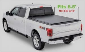 Tonno-Pro-LR-3050-Lo-Roll-Black-Roll-Up-Truck-Bed-Tonneau-Cover